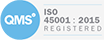 ISO 45001-2018 Registered